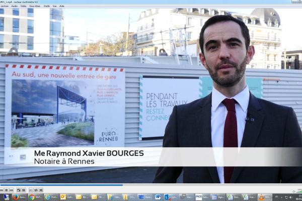 Interview de Raymond-Xavier BOURGES (Lexonot - Notaires associés)