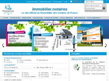Portail immobilier des Notaires de France